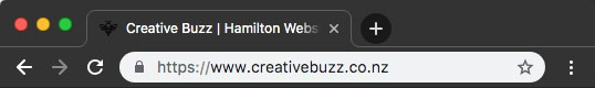 Creative Buzz - Blog - Why your Wordpress website needs an SSL Certificate -Secure Icon